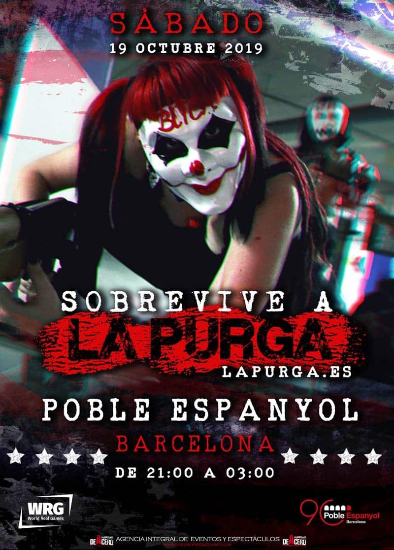 Juega a La Purga este sábado en Poble Espanyol - lugares, eventos-en-barcelona