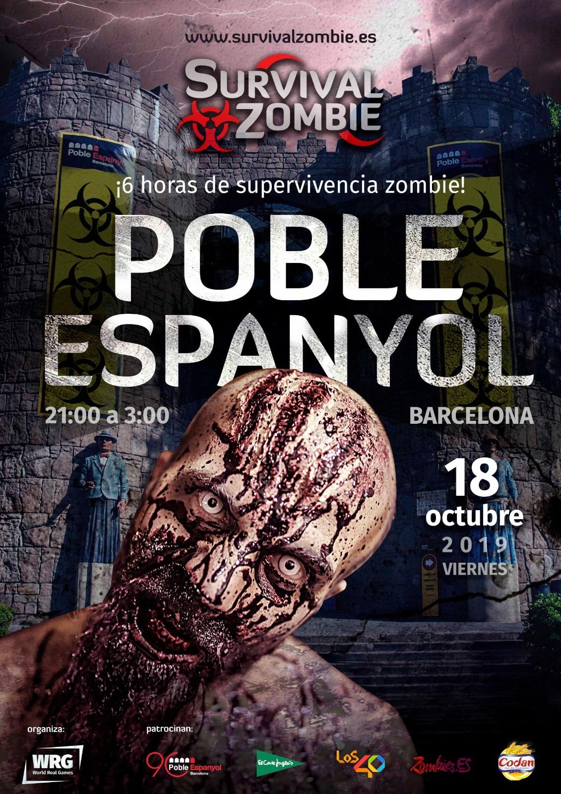 Juega al Survival Zombie, un juego real, en Poble Espanyol - lugares, eventos-en-barcelona
