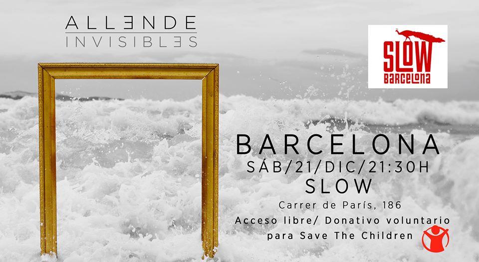 Rock solidario con Allende el 21 de diciembre en la Sala Slow de Barcelona - eventos-en-barcelona