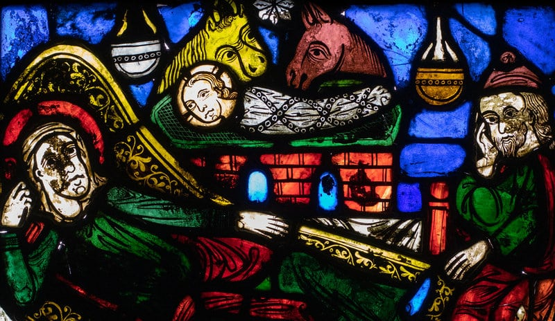 Un vitral en la Catedral de Girona, el más antiguo de Cataluña - novedades, lugares