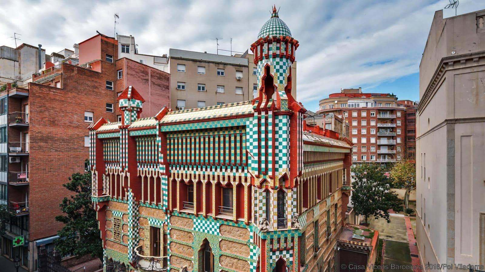 ¿Te gusta Gaudí? Haz un tour por la casa Vicens - tiendas-en-barcelona, lugares