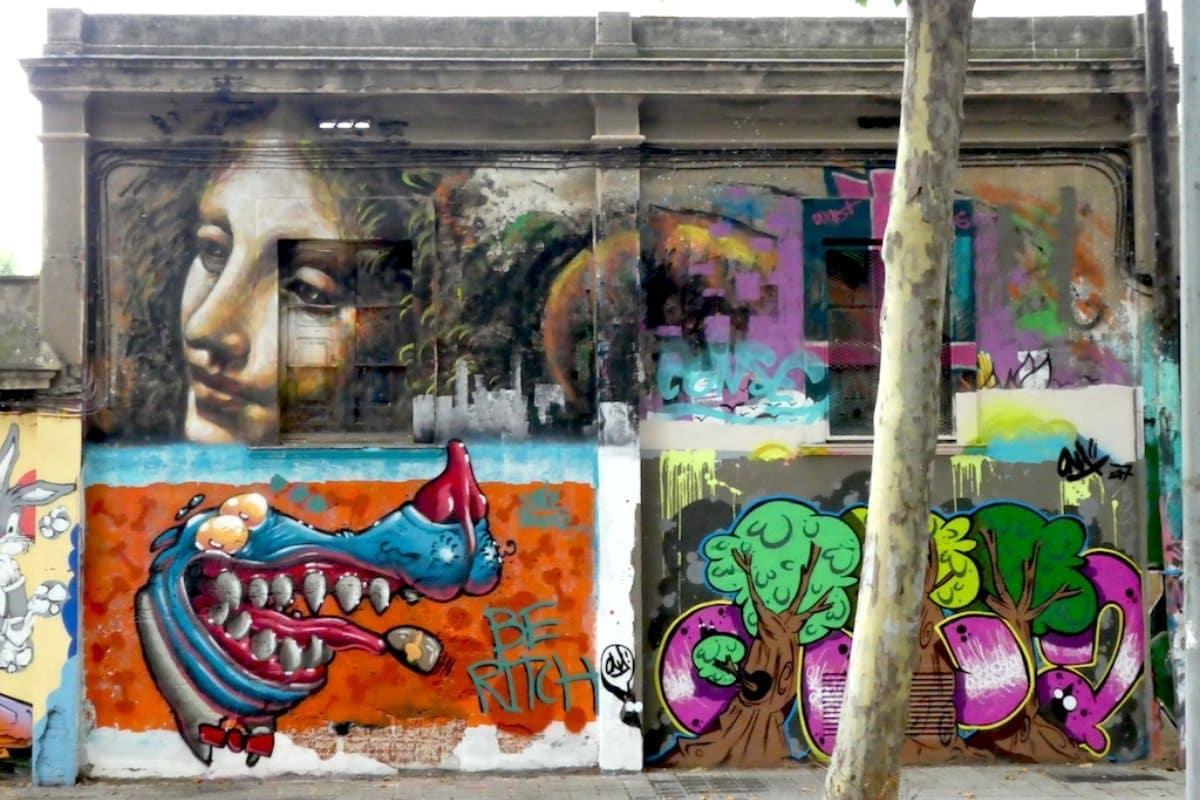 Arte urbano entre muros - novedades, lugares
