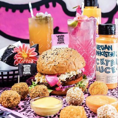 Vegan Junk Food Bar, así es la comida basura vegana - novedades, lugares, bar-y-restaurantes