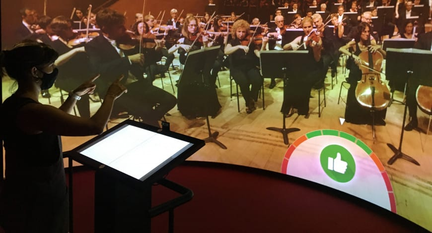 Aprende cómo es dirigir una orquesta en el Museo de la Música - novedades, lugares, destacado