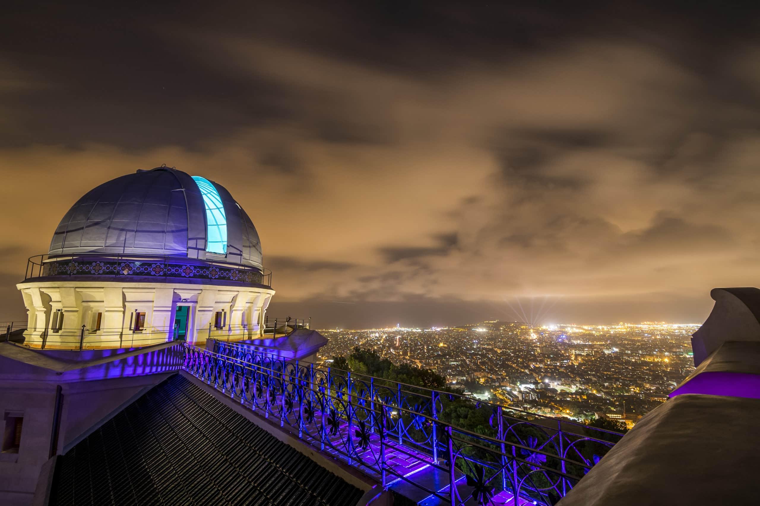 Visita de noche con los niños el Observatorio Fabra - novedades, lugares