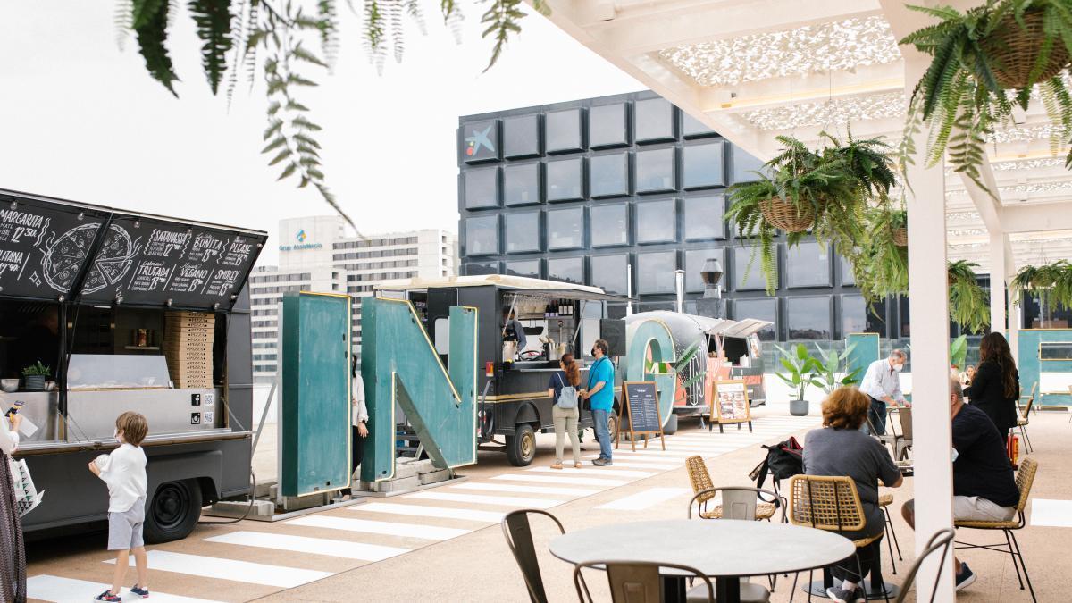 """""""Food trucks"""" en las alturas y en plena Diagonal - novedades, lugares, bar-y-restaurantes"""